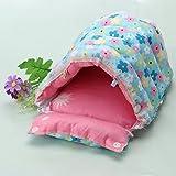 TTnight Small Pets Bed, Cotton Rabbit Guinea Pigs