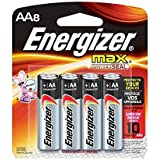 Energizer Max E92BP-8 - Battery 8 x AA alkaline by Energizer