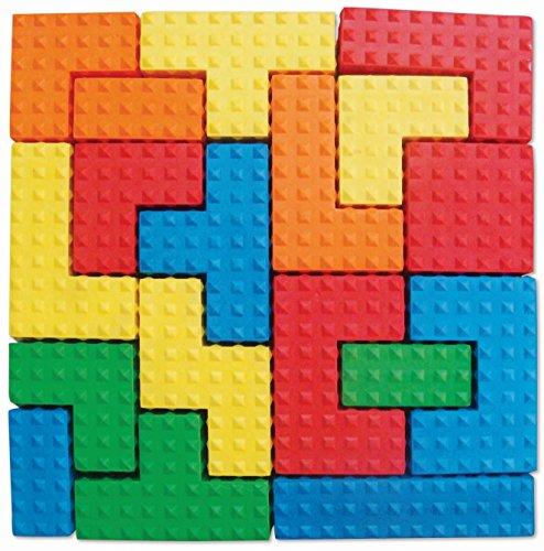Edushape Easy Grip Soft Foam Sensory Puzzle Blocks