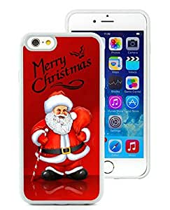 diy phone case2014 Newest iPhone 6 Case,Santa Claus White iPhone 6 4.7 Inch TPU Case 19diy phone case