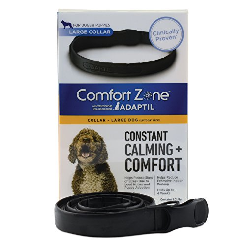 Comfort Zone Adaptil Collar, Large Dog, 1 Pack, For Dog Calming (Feliway Refill Comfort Farnam Zone)