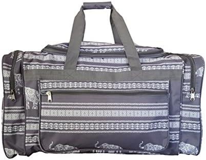 21 inch Fashion Print Gym Dance Cheer Travel Duffle Bag