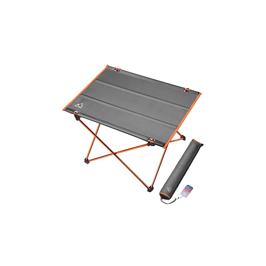 Terra Hiker Camping Table Folding Picnic Table Hiking Table With - Aluminum picnic table frame