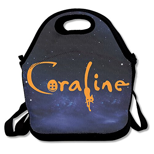 coraline animated movie colorful lunch bag tote mom bag buy online