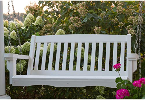 Wildridge Outdoor Recycled Plastic Classic Mission 4ft Porch Swing - Ships in 10-14 Business Days