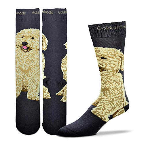 Goldendoodle Realistic Socks - http://coolthings.us