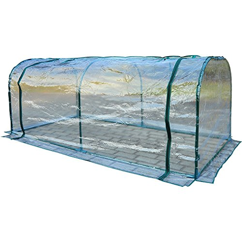 Marketworldcup Outdoor Mini 7'x3'x3' Portable Plant Flower Gardening Greenhouse Light - New Square Brunswick