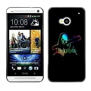 LECELL -- Funda protectora / Cubierta / Piel For HTC One M7 -- Brick Bazooka --
