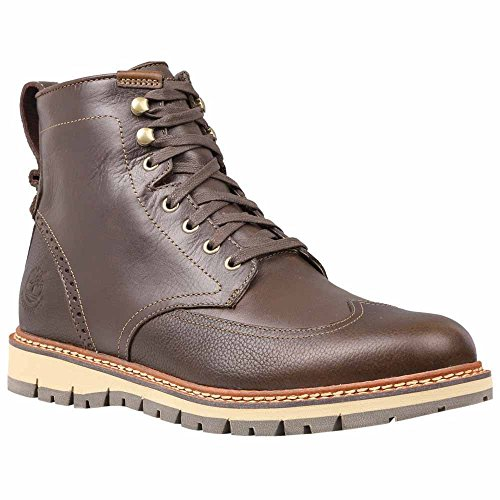 Timberland Men's Earthkeepers� Britton Hill Wing Top Boot Waterproof Dark Brown Smooth 9 M