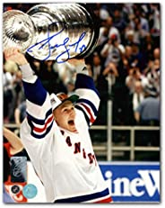 Alexei Kovalev New York Rangers Autographed 1994 Stanley Cup 8x10 Photo