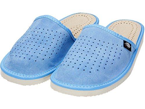 gibra - Zapatillas de Material Sintético para mujer, color azul, talla 38 EU