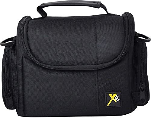 Large Digital Deluxe Camera Carrying Bag For Panasonic HC-W580 HC-V380 HC-V180