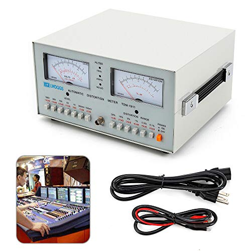 Tdm1911 Audio Distortion Meter,Automatic Audio Signal Distortion Analyzer Meter Tester Scope Sale New Voltmeter Newest from LOYALHEARTDY19