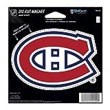 NHL Montreal Canadiens Die Cut Magnet, 4.5″ x 6″