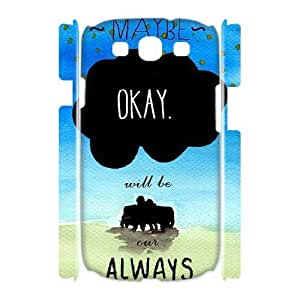 ALICASE Cover Case Okay Okay 3D Diy For Samsung Galaxy S3 I9300 [Pattern-1] by lolosakes