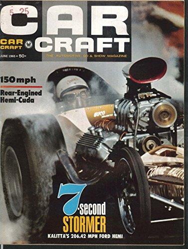 CAR CRAFT Hemi-Cuda Kalitta Ford Hemi Mongoose Corvette 6 1965 ()