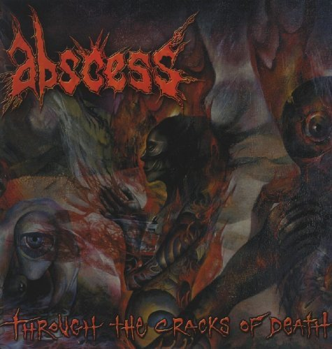 Vinilo : Abscess - Through The Cracks Of Death (LP Vinyl)