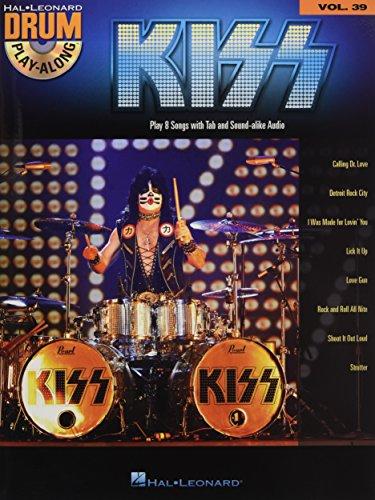 Kiss: Drum Play-Along Volume 39 (Hal Leonard Drum Play-Along)