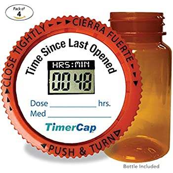 Amazon Com Timercap Stopwatch Cap Amp Pill Bottle