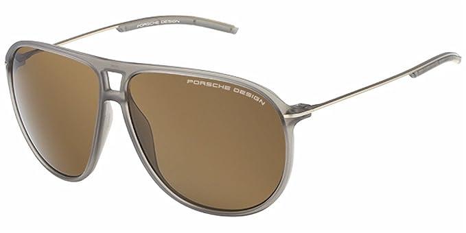 Porsche Design Sunglasses P8635 C 61 Gafas de Sol, Gris (Gr ...