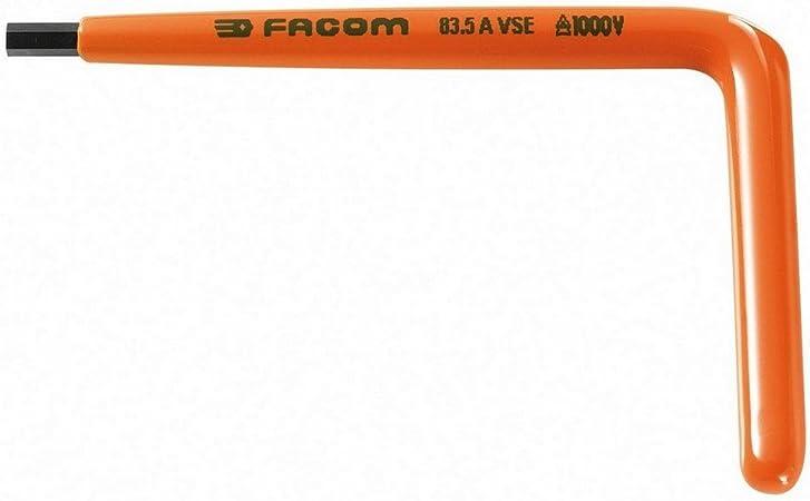Facom-83,5AVSE cl/é 5 mm m/âle coud/ée isol/é 1000 V vse s/érie