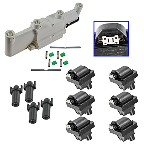 Ignition Coil Plug Boot Housing Cover Kit Set for Cavalier Grand Am Alero Malibu (Plugs Ignition Cover)