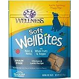 Wellness Soft WellBites Natural Grain Free Dog Treats, Chicken & Lamb, 6-Ounce Bag