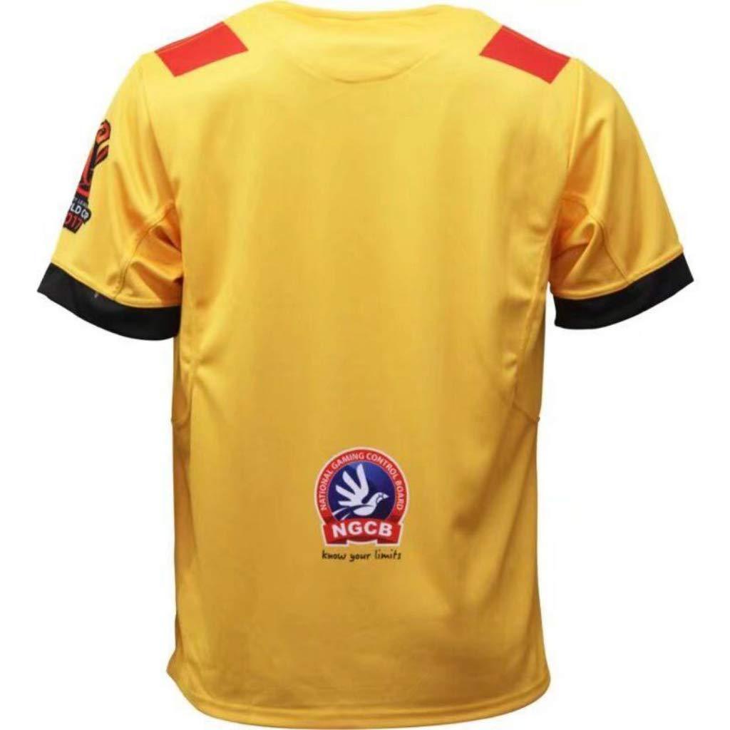 Nouveau Tissu Brod/é V/êtement De Sport Maillot De Rugby /Équipe De Papouasie-Nouvelle-Guin/ée
