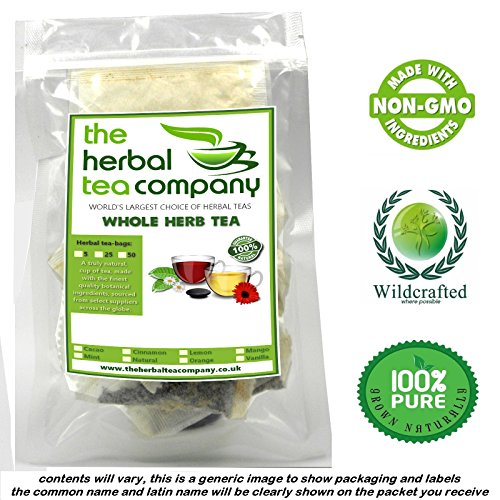 Boldo Leaf 100% Pure Herb Tea Bags With A Hint Of Lemon 25 (Boldo Leaves)