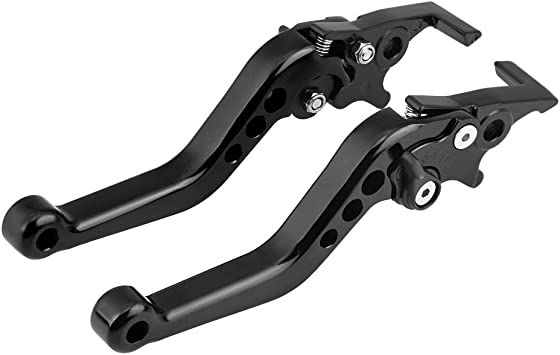 Black New Adjustable AOF Aluminum Clutch Lever Perch for All MX ATV Dirt Bike 1