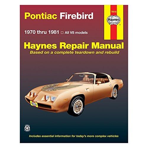 (Pontiac Firebird V8, 1970-81 (Haynes Repair)