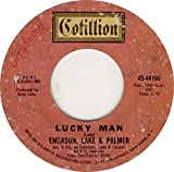 45vinylrecord Lucky Man/Knife's Edge (7