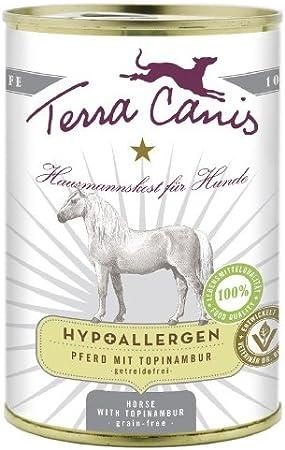 Terra Canis | caballo con topinam Bur/hipoalergénico | 6x 400g