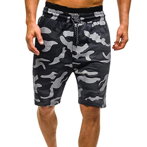 Semplice Camouflage Cargo Pantaloncini Estate Pantaloni Casual Sport Stile Al Uomo Lanceyy Nero Ragazzi Adolescenti R Ginocchio wqSTRWfnn