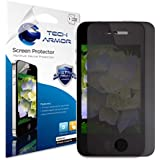 iPhone 4 Privacy Screen Protector, Tech Armor 4Way 360 Degree Privacy Apple iPhone 4 / 4S Film Screen Protector [1-Pack]