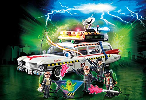 The Ghostbusters Ecto-1A is one of the new playmobil sets this year