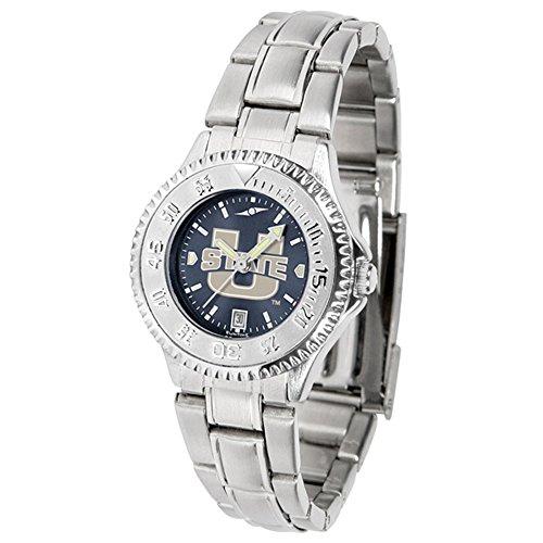 Linkswalker Utah State University Aggies Ladies' Steel Anochrome Watch