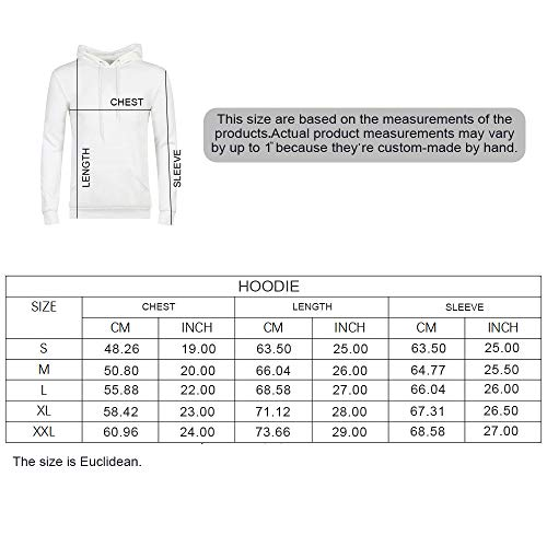 Ocean Decor Durable Hoodies,Wreck Small Stranded Boat on Seaside Snow  Clouds Windy Day Wave Picture for Women,M