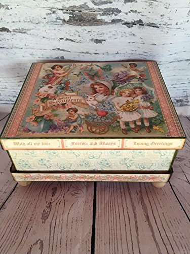 Handmade Sweet Sentiments Box Photo Album with Stand by Artsy Creativities