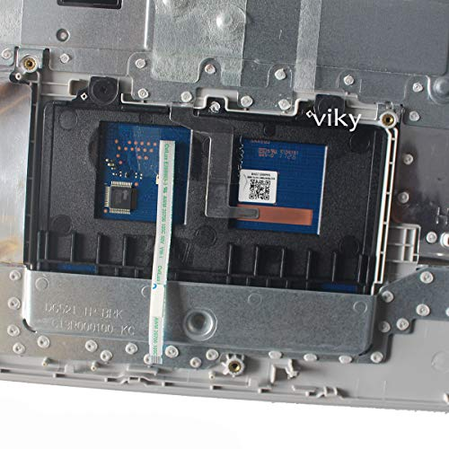 New Replacement for Lenovo IdeaPad 320-15 320-15IAP 320-15AST 320-15IKB Palmrest US Keyboard Bezel Silve Color