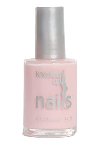 Tickled Pink Knocked Up Nails Maternity Pregnancy Safe Nail Polish Vegan Gluten Free 5 Free