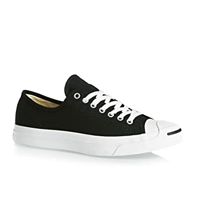 d7beeeb158df Converse Jack Purcell Canvas Low top Sneaker Mens 3 Womens 4.5 Black