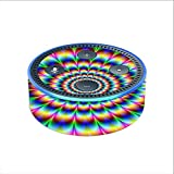 Skin Decal Vinyl Wrap for Amazon Echo Dot 2 (2nd generation) / Trippy hologram dizzy