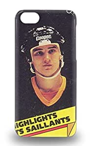 Travers-Diy case cover For Iphone 5c Strong Protect case cover NHL Pittsburgh Penguins Mario Lemieux #66 6GVw8WUgcbk Design