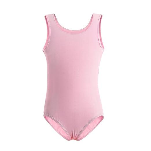 4314a48b3 MAGIC TOWN Tank Top Sleeveless Leotard for Girls  Gymnastics Ballet ...