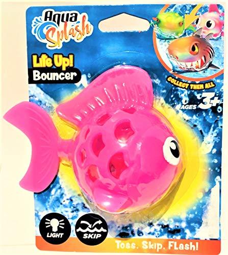 Aqua Splash by Aqua Leisure Lite Up! Bouncer - Pink - Bouncer Aqua