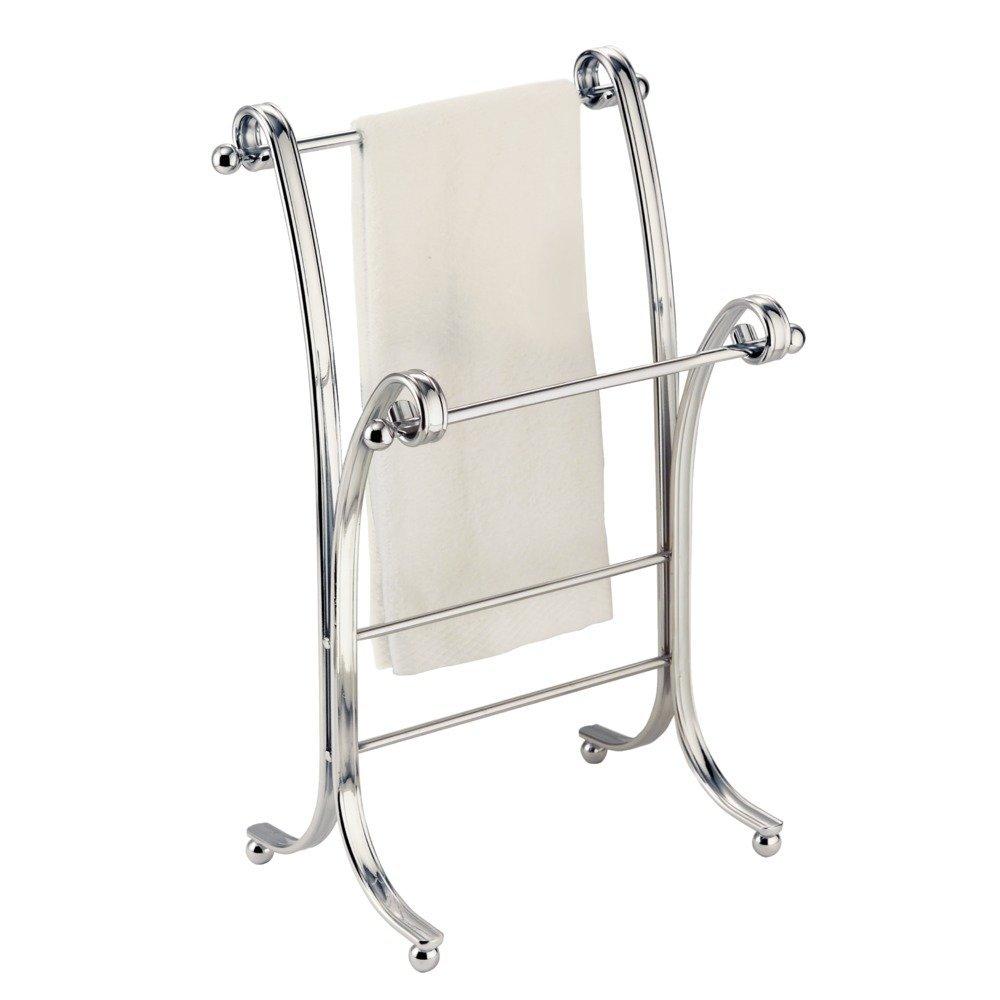 hand towel stand. Contemporary Towel Amazoncom InterDesign York Lyra Fingertip Hand Towel Rack U2013 FreeStanding  Bathroom Vanity HolderDryer Chrome Home U0026 Kitchen For Stand