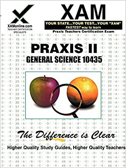 PRAXIS II General Science 10435 (Praxis II Teacher's XAM)