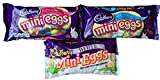 cadbury mini eggs christmas - Cadbury Mini Eggs Chocolate 3 Pack Gift Set Includes Cadbury Milk Chocolate , Cadbury Royal Dark , Cadbury White