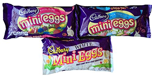 Cadbury Mini Eggs Chocolate 3 Pack Gift Set Includes Cadbury